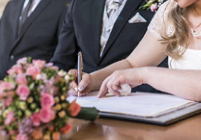 Changing your surname - your choices on marriage, divorce and widowhood