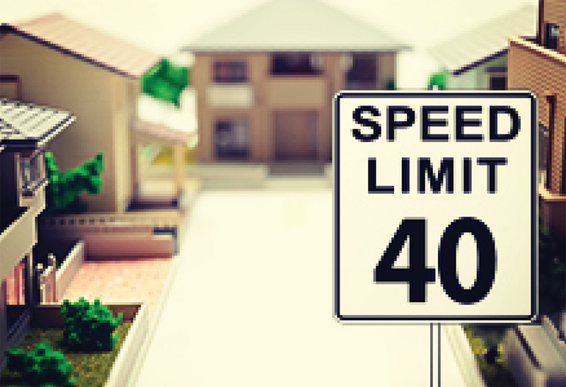 Security Estates: Can You Fine Speedsters?