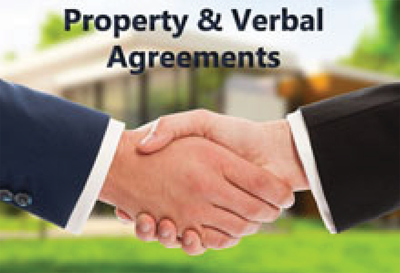 Property: Are Verbal Agreements Valid?